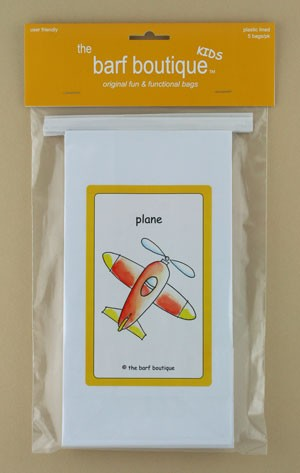 """Little Plane"" Barf Bag - Kids (5/pk)"