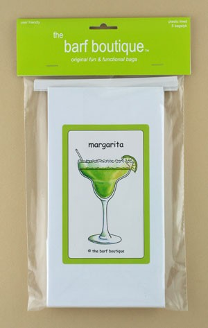 """Margarita"" Barf Bag (5/pk)"