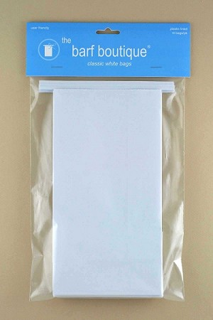 Classic White Barf Bags (20 Bags)