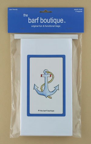 """Anchor"" Barf Bag (5/pk)"
