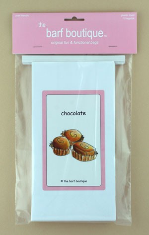 """Chocolate"" Barf Bag (5/pk)"