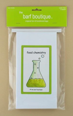 """Urping!"" Food Chemistry Barf Bag (5/pk)"