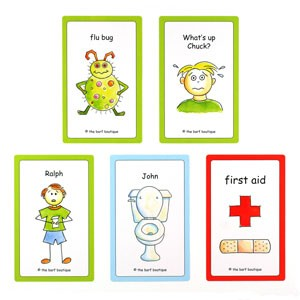 """Get Well Soon"" Bags - Variety Pack (5/pk)"