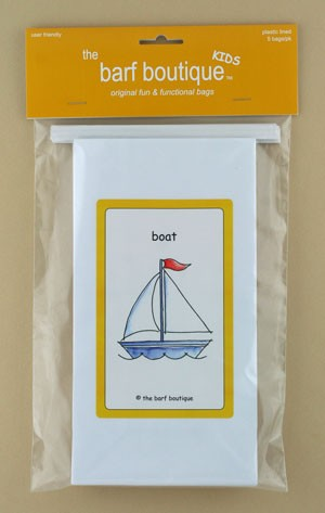 """Little Boat"" Barf Bag - Kids (5/pk)"